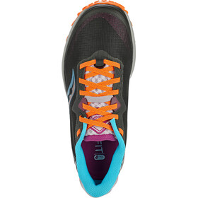 saucony Peregrine 11 Shoes Women, negro/Multicolor